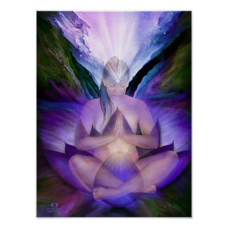 Third Eye Chakra Goddess Fine Art Poster/Print Poster