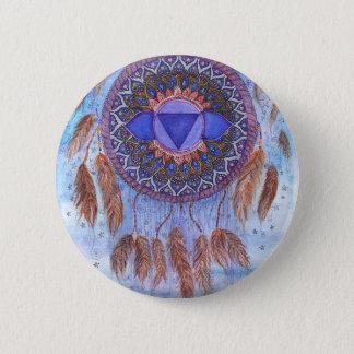 Third Eye Chakra Inspirational Design Button