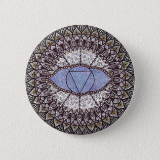 Third Eye Chakra Mandala Button