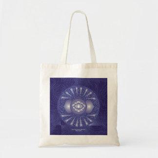 Third Eye Chakra Mandala Tote Bag