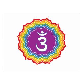 Third Eye chakra Postcard