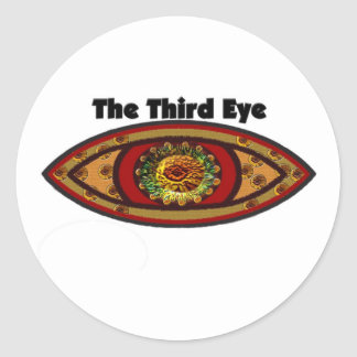 Third Eye Classic Round Sticker
