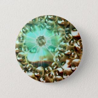 Third eye Dolly Pinback Button