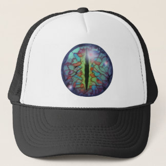 Third eye dragon trucker hat