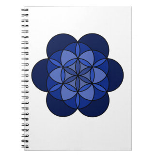 Third Eye Flower of Life Notebook