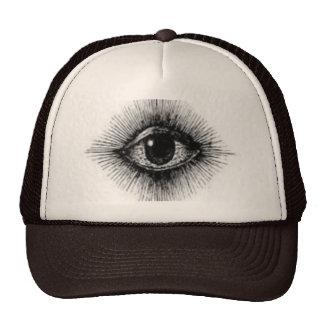 third eye hat! trucker hat