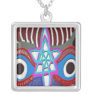 Third Eye - Sixth Sense Square Pendant Necklace