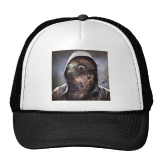 Third Eye Space Man Mesh Hats
