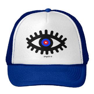 Third eye trucker hat