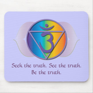 Third eye truth mousepad