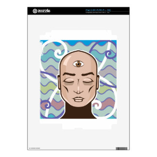Third Eye vector Illustration Decals For The iPad 2