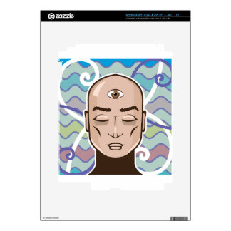 Third Eye vector Illustration iPad 3 Skins