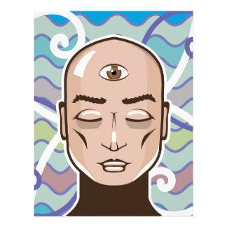 Third Eye vector Illustration Letterhead