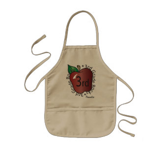 Third Grade Personalize | School Kids' Apron