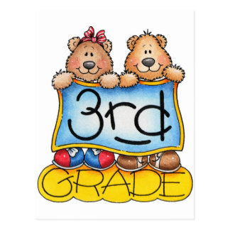 Third Grade Postcard
