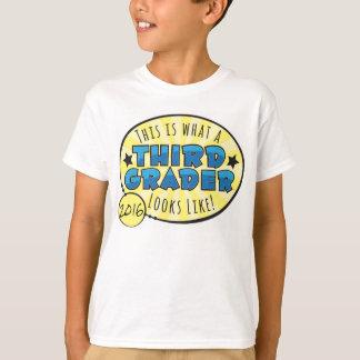 Third Grade Shirt | blue & yellow