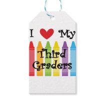 Third grade teacher gift tags