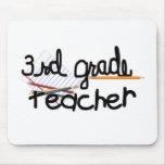 Third Grade Teacher Mouse Pad