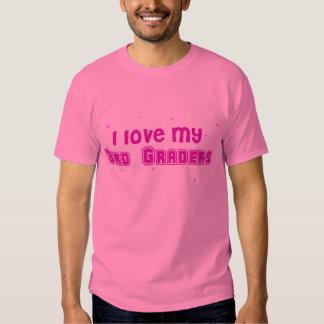 third grade Teacher shirt in PiNK