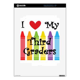 Third grade teacher skins for the iPad 2