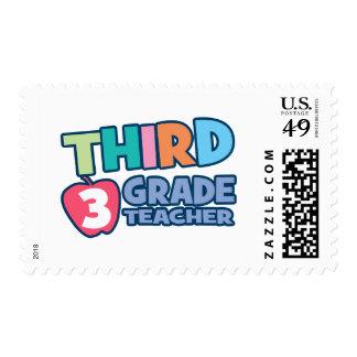 Third Grade Teacher Stamp