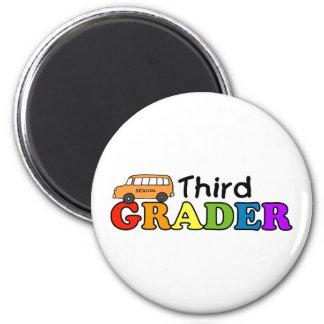 Third Grader 2 Inch Round Magnet