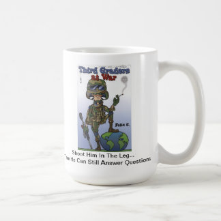 Third Graders At War mug