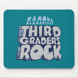 Third Graders Rock - Mousepad