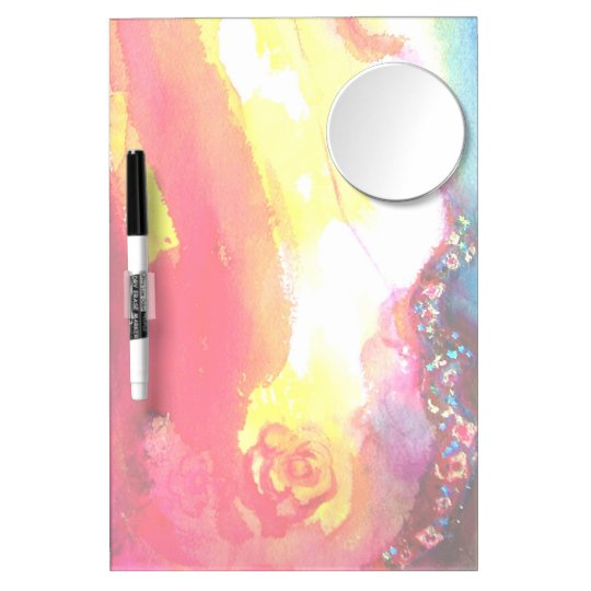 THIRD MASK Detail Dry Erase Board With Mirror