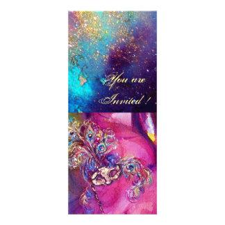 THIRD MASK  Venetian Carnival  Masquerade Ball Personalized Invite