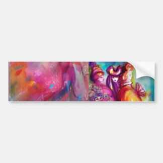 THIRD MASK / Venetian Masquerade Bumper Sticker