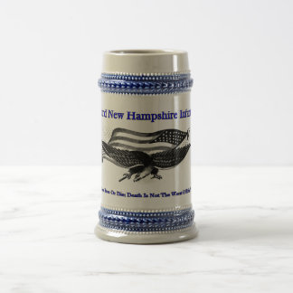 Third new Hampshire Infantry Beer Stein