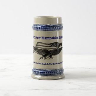Third new Hampshire Infantry Beer Stein 18 Oz Beer Stein