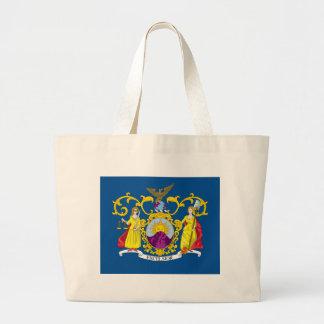 Third New York Regiment Flag Large Tote Bag