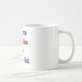 Third Party Check T-Shirt Classic White Coffee Mug