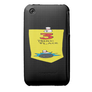 Third Place Bowling Ribbon Case-Mate iPhone 3 Case