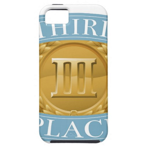 Third place bronze medal iPhone 5 covers