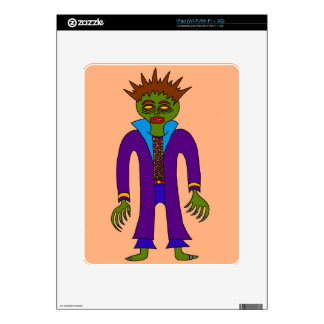 Third Prince Of The Undead iPad Skin