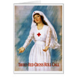 Third Red Cross Roll Call, 1918 Greeting Card