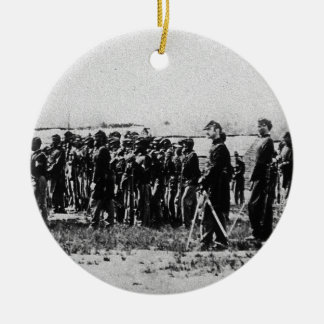 Third Regiment Infantry Civil War Colored Troops Christmas Ornament