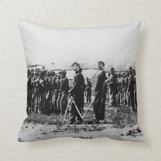 Third Regiment Infantry Civil War Colored Troops Throw Pillow