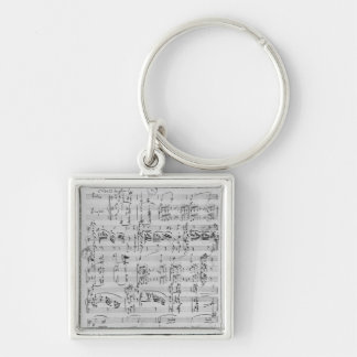 Third Sonata for piano and violin Keychain