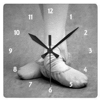 Third Square Wall Clock