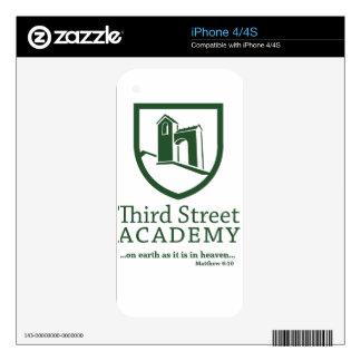 Third Street Academy Matthew 6:10 iPhone 4S Decal