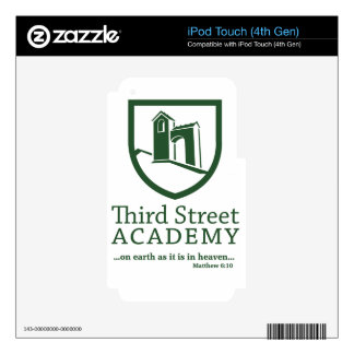 Third Street Academy Matthew 6:10 Skin For iPod Touch 4G