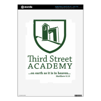 Third Street Academy Matthew 6:10 Skins For iPad 3