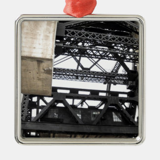 Third Street Bridge Vertical Metal Ornament