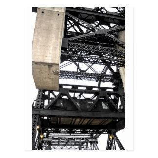 Third Street Bridge Vertical Postcard