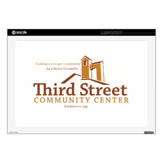 "Third Street Community Center Vision 17"" Laptop Skins"
