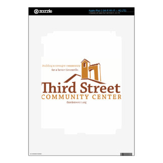 Third Street Community Center Vision iPad 3 Skins